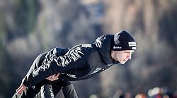 01.01.2014, Olympiaschanze, Garmisch Partenkirchen, GER, FIS Ski Sprung Weltcup, 62. Vierschanzentournee, Probesprung, im Bild Gregor Deschwanden (SUI) // Gregor Deschwanden (SUI) during Trial Jump of 62nd Four Hills Tournament of FIS Ski Jumping World Cup at the Olympiaschanze, Garmisch Partenkirchen, Germany on 2014/01/01. EXPA Pictures © 2014, PhotoCredit: EXPA/ JFK