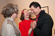 WIM WENDERS; DONATE WENDERS; ANTONY GORMLEY, Places Strange and quiet. Exhibition of photos by Wim Wenders. Haunch of Venison. 14 April 2011.  -DO NOT ARCHIVE-© Copyright Photograph by Dafydd Jones. 248 Clapham Rd. London SW9 0PZ. Tel 0207 820 0771. www.dafjones.com.