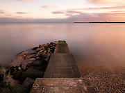 Limited Edition of 17<br /> Last light along the SW English Coastal Town of Lyme Regis