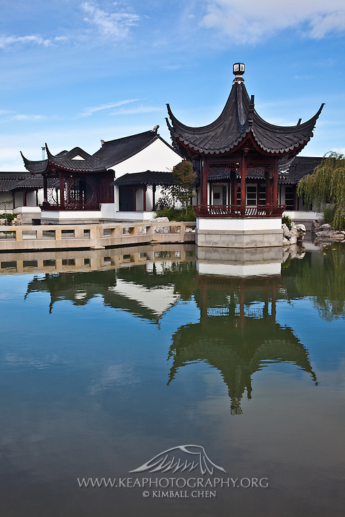 The Dunedin Chinese Garden is an example of a late Ming, early Ching Dynasty Scholar's Garden.  New Zealand.