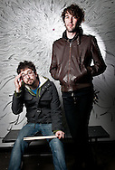 Brian King and David Prowse of the Vancouver duo Japandroids.