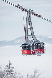 04.02.2019, Are, SWE, FIS Weltmeisterschaften Ski Alpin, Damen, Abfahrt, 1. Training, im Bild Gondel // Gondola during 1st Ladies Dwonhill Training of the FIS Ski Alpine World Championships 2019 in Are, Sweden on 2019/02/04. EXPA Pictures © 2019, PhotoCredit: EXPA/ Johann Groder