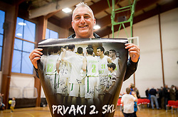 Sasa Doncic after basketball match between KD Ilirija and KK Mesarija Prunk Sezana in Last Round of 2. SKL  2016/17, on April 15, 2017 in GIB center, Ljubljana, Slovenia. Photo by Vid Ponikvar / Sportida