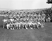 07/09/1969<br /> 09/07/1969<br /> 7 September 1969<br /> All-Ireland Minor Final: Kilkenny v Cork at Croke Park, Dublin. <br /> The Kilkenny minor hurling team.