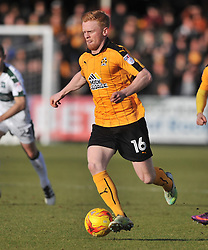 Cambridge United v Plymouth Argyle, Sky Bet League Two Abbey Stadium, Saturday 4th February 2017. <br /> Score 0-1 (SARCEVIC) LIAM O'NEIL CAMBRIDGE UNITED, NEW SIGNING,