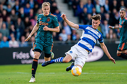 15-05-2019 NED: De Graafschap - Ajax, Doetinchem<br /> Round 34 / It wasn't really exciting anymore, but after the match against De Graafschap (1-4) it is official: Ajax is champion of the Netherlands / Donny van de Beek #6 of Ajax, Bart Straalman #2 of De Graafschap