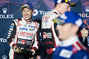 March 12-15, 2019: 1000 Miles of Sebring, World Endurance Championship. Kamui Kobayashi,  Toyota Racing, Toyota TS050 Hybrid