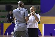 Kobe Bryant Ettore Messina - Clinic con Kobe Bryant e Ettore Messina, mamba mentality tour 2016, 22/07/2016, Milano. Foto Fip/Ciamillo