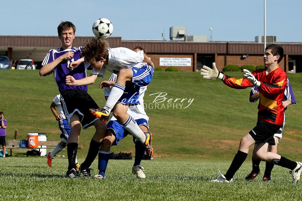 May/10/11:  MCHS JV Boys Soccer vs Strasburg.  Madison defeats Strasburg 4-1.