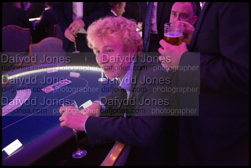 CHARLIE RUBIN, Quintessentially Foundation Poker Night,  annual poker night,  to raise money for Right to play, Greenhouse and Place2Be. Savoy. 13 November 2014.
