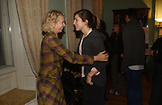 TRUDIE STYLER  AND REBECCA HEART. The 10th Anniversary Human Rights Watch International Film Festival Benefit Gala  reception at Dartmouth House. 15 March 2006.  ONE TIME USE ONLY - DO NOT ARCHIVE  © Copyright Photograph by Dafydd Jones 66 Stockwell Park Rd. London SW9 0DA Tel 020 7733 0108 www.dafjones.com