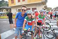 Ciclismo giovanile, 10A Coppa di Sera, Esordienti Donne, Borgo Valsugana 10 settembre 2016 <br /> Gasparrini Eleonore Camilla<br /> Barale Francesca<br /> &copy; foto Daniele Mosna