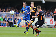 Rhys Murphy forward for AFC Wimbledon (39) in action during the Sky Bet League 2 match between AFC Wimbledon and Newport County at the Cherry Red Records Stadium, Kingston, England on 7 May 2016. Photo by Stuart Butcher.