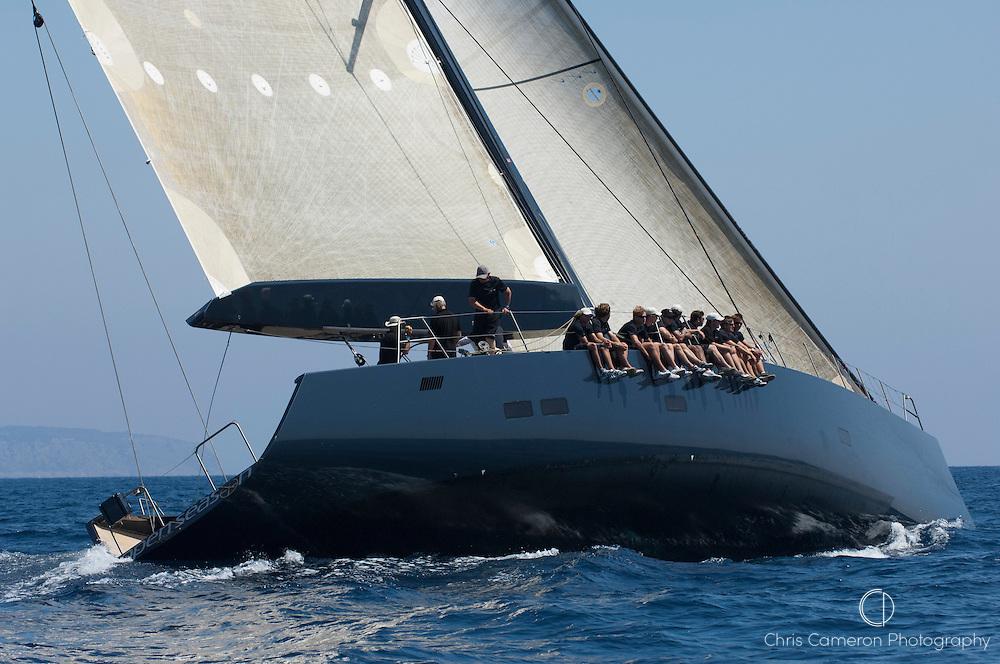 Open Season, Race 0ne, The Horus Super Yacht Cup Palma 2009, 25/6/2009