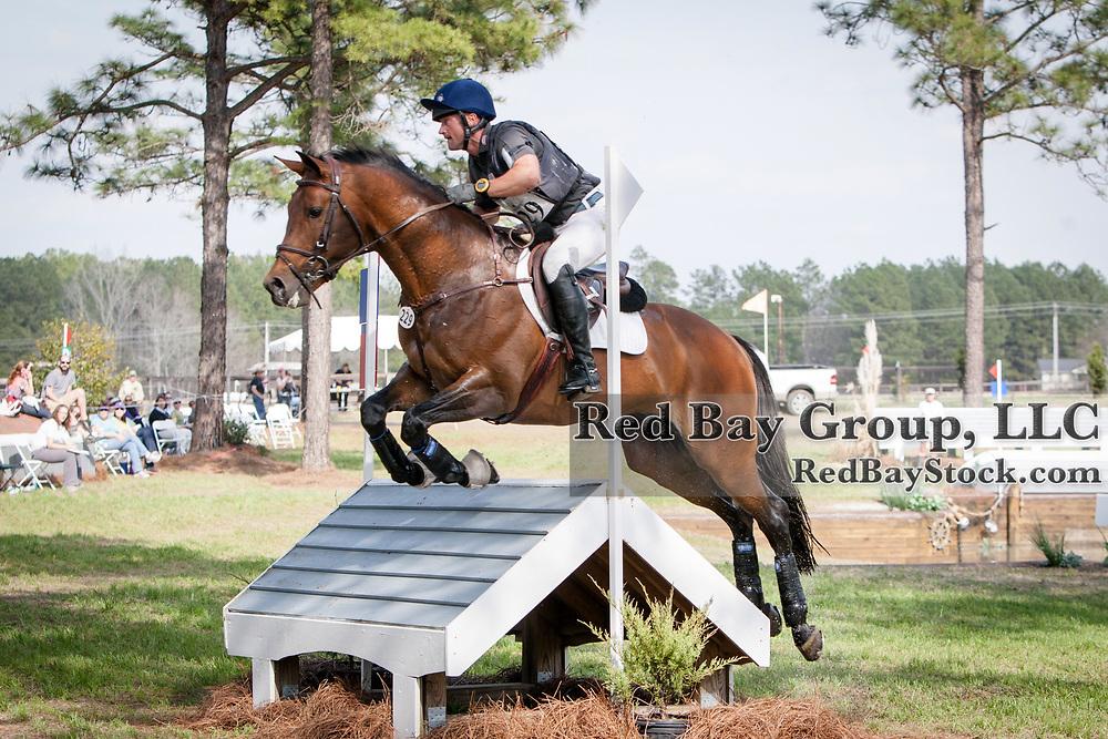 Michael Pollard (USA) and Halimey at the Carolina International in Raeford, North Carolina.