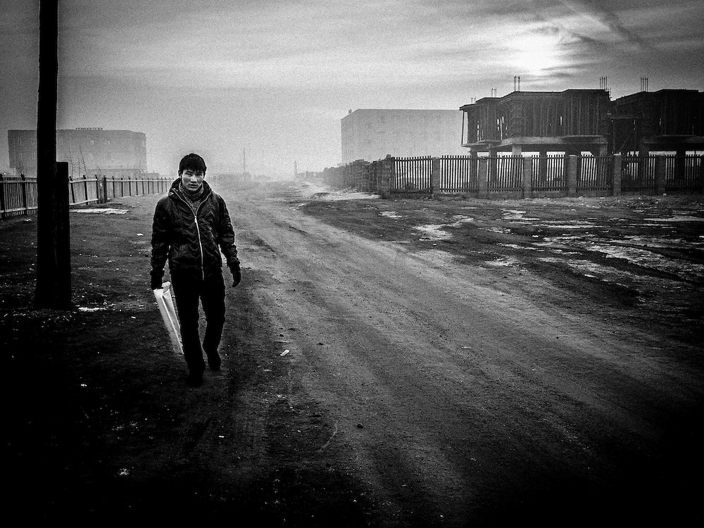Moron is a mining city in northern Mongolia, built around a coal power plant suffers of heavy air pollution