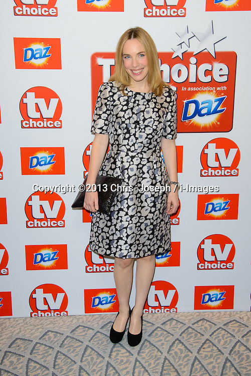 TV Choice Awards 2013 - London.<br /> Laura Main arriving at the TV Choice Awards 2013, The Dorchester Hotel, London, United Kingdom. Monday, 9th September 2013. Picture by Chris  Joseph / i-Images