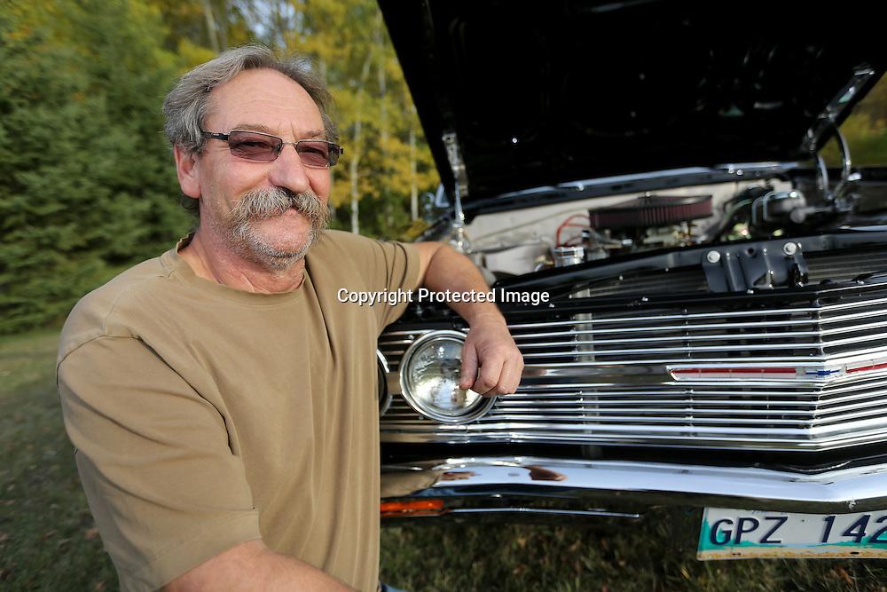 Ed Gobeil, 1965 Chevrolet Chevelle, Tuesday, October 8, 2013.