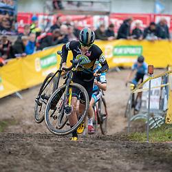 13-10-2019: Cycling: Superprestige Cyclocross: Gieten <br />Thibault Nys pakt de overwinning
