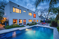 Phoenix, Arizona luxury twilight real estate photography