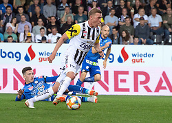 24.04.2019, TGW Arena, Pasching, AUT, 1. FBL, LASK vs SK Puntigamer Sturm Graz, Meistergruppe, 27. Spieltag, im Bild v.l. Dario Maresic (SK Puntigamer Sturm Graz), Thomas Goiginger (LASK) // during the tipico Bundesliga Master group, 27th round match between LASK and SK Puntigamer Sturm Graz at the TGW Arena in Pasching, Austria on 2019/04/24. EXPA Pictures © 2019, PhotoCredit: EXPA/ Reinhard Eisenbauer