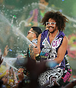 17.JUNE.2012. TORONTO<br /> <br /> LMFAO PERFORM AT THE 2012 MUCH MUSIC VIDEO AWARDS IN TORONTO, CANADA.<br /> <br /> BYLINE: EDBIMAGEARCHIVE.CO.UK/CJ LA FRANCE<br /> <br /> *THIS IMAGE IS STRICTLY FOR UK NEWSPAPERS AND MAGAZINES ONLY*<br /> *FOR WORLD WIDE SALES AND WEB USE PLEASE CONTACT EDBIMAGEARCHIVE - 0208 954 5968*