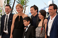 Director of photography Federico Lastra, producer Luciana Piantanida,  director Francisco Marquez, actor Santiago Ruiz, director Andrea Testa and actor Diego Velazquezat the The Long Night of Francisco Sanctis (La Larga Noche De Francisco Sanctis) film photo call at the 69th Cannes Film Festival Friday 20th May 2016, Cannes, France. Photography: Doreen Kennedy