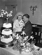 12th June 1956<br /> <br /> Fitzmaurice - Healy wedding at Westland Row and the Gresham Hotel, Dublin.
