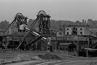 Barrow Colliery, Worsbrough Bridge. National Coal Board Barnsley Area. 19-06-1985.