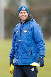 Bristol First Team Coach Sean Holley looks on - Photo mandatory by-line: Rogan Thomson/JMP - 07966 386802 - 13/02/2015 - SPORT - RUGBY UNION - Bristol, England - Bristol Rugby Club Training Ground, Station Road, Henbury - Training Session.