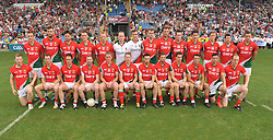 Mayo Senior Football team July 21st McHale Park<br /> Connacht Champions.<br /> Pic Conor McKeown
