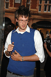 ISAAC FERRY at a preview of Garrard's new collections and celebrates a Kaleidoscope of Colour at Garrard, 24 Albemarle Street, London on 10th May 2007.<br />