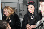 SWEDISH BLONDE VANESSA FRISTEDT; PRINCESS JULIA, Nicola Tyson exhibition of photographs: Bowie Nights at Billy's Club London 1978. Sadie Coles HQ. 9 Balfour Mews, London W1. 25 January 2013.