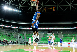 Rashun Jarrel Davis of Rogaska during basketball match between KK Petrol Olimpija and KK Rogaska in Round #5 of Liga Nova KBM za prvaka 2018/19, on March 31, 2019, in Arena Stozice, Ljubljana, Slovenia. Photo by Masa Kraljic / Sportida