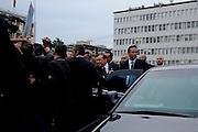 Silvio Berlusconi during the rally at the national convention of Forza Italia<br /> 16 novembre   2013 . Daniele Stefanini /  OneShot