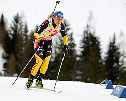 16.12.2011, Biathlonzentrum, Hochfilzen, AUT, E.ON IBU Weltcup, 3. Biathlon, Hochfilzen, Sprint Frauen, im Bild Magdalena Neuner (GER) // during Sprint women E.ON IBU World Cup 3th Biathlon, Hochfilzen, Austria on 2011/12/16. EXPA Pictures © 2011, PhotoCredit: EXPA/ Oskar Hoeher