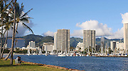 Friday yacht race, Ala Wai Harbor, Magic Island, Ala Moana, Waikiki, Honolulu, Oahu, Hawaii