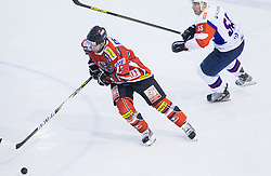 Michael Schiechl of Austria during Friendly Ice-hockey match between National teams of Slovenia and Austria on April 19, 2013 in Ice Arena Tabor, Maribor, Slovenia. (Photo By Vid Ponikvar / Sportida)