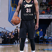 Erie BayHawks Forward Kadeem Batts (31) attempts a free throw in the second half of a NBA D-league regular season basketball game between the Delaware 87ers and the Erie BayHawk (Orlando Magic) Friday, Mar. 27, 2015 at The Bob Carpenter Sports Convocation Center in Newark, DEL.
