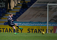 Ross County's Liam Boyce role home the winner from the penalty spot - Ross County v Dundee in the Ladbrokes Scottish Premiership at The Global Energy Stadium, Dingwall, Photo: David Young<br /> <br />  - &copy; David Young - www.davidyoungphoto.co.uk - email: davidyoungphoto@gmail.com
