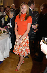 actress AMANDA HOLDEN at a party to celebrate the publication of an autobiography by the late Jack Rosenthal at The Fine Art Society, 148 New Bond Street, London W1 on 21st April 2005.<br />