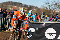 Stan Godrie (NED), Men Under 23, Cyclo-cross World Championships Tabor, Czech Republic, 1 February 2015, Photo by Pim Nijland / PelotonPhotos.com