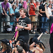 NLD/Amsterdam/20080802 - Canal Parade 2008 Amsterdam, gerard Joling