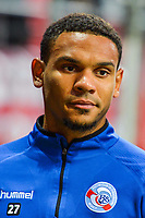Kenny Lala of Strasbourg during the Ligue 1 match between Dijon FCO and Strasbourg at Stade Gaston Gerard on September 30, 2017 in Dijon, . (Photo by Vincent Poyer/Icon Sport)