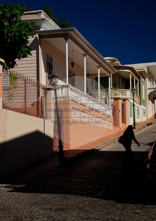 Historic home in the San German historic district, San German, Puerto Rico