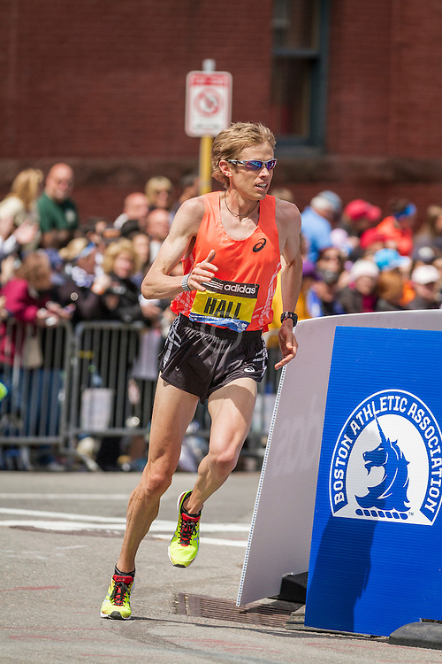 2014 Boston Marathon: Ryan Hall, USA