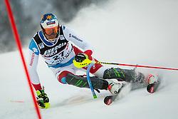 "Ramon Zenhaeusern (SUI) during FIS Alpine Ski World Cup 2016/17 Men's Slalom race named ""Snow Queen Trophy 2017"", on January 5, 2017 in Course Crveni Spust at Sljeme hill, Zagreb, Croatia. Photo by Ziga Zupan / Sportida"