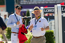 Verlooy Jos, BEL, Weinberg Peter, GER<br /> European Championship Jumping<br /> Rotterdam 2019<br /> © Hippo Foto - Dirk Caremans
