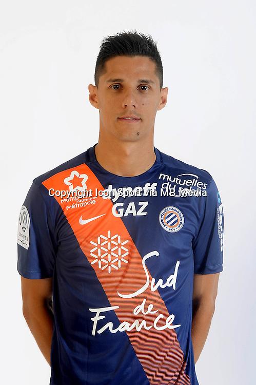 Florian SOTOCA - 06.10.2015 - Photo officielle Montpellier - Ligue 1<br /> Photo : De Hullessen / Mhsc / Icon Sport