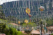 Tiradentes_MG, Brasil...Decoracao de carnaval em Tiradentes...The carnival decoration in Tiradentes...Foto: LEO DRUMOND /  NITRO